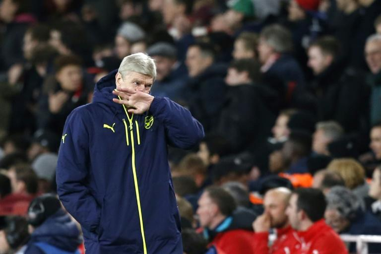 Arsenal manager Arsene Wenger during the Champions League defeat to Bayern Munich at the Emirates Stadium in London, on March 7, 2017