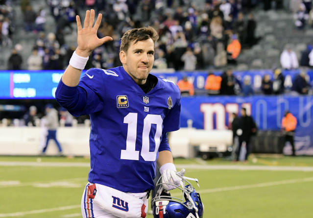 After a great Giants career, it's past time for the Giants to accept Eli Manning can no longer be at the center of their quarterback plans. (Photo by Steven Ryan/Getty Images)