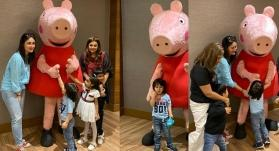 In pics: Kareena Kapoor Khan can't stop gushing over Taimur's fan moment with Peppa Pig