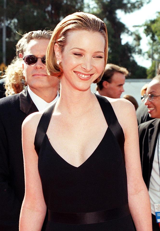<p>We hope Lisa Kudrow's slicked-back, short bob makes a comeback ASAP.</p>