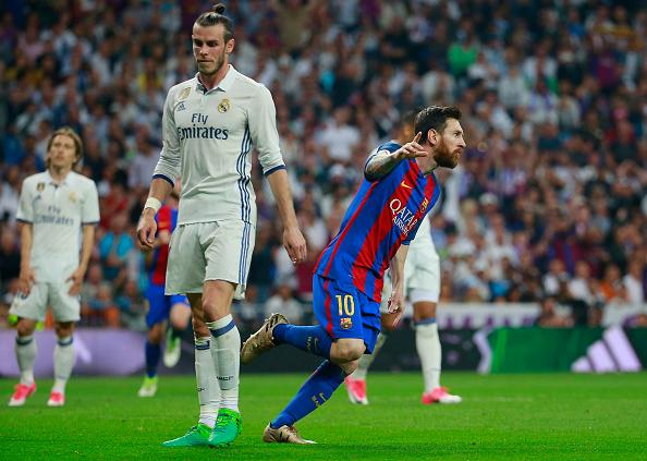 Lionel Messi Real Madrid Barcelona La Liga 23072017