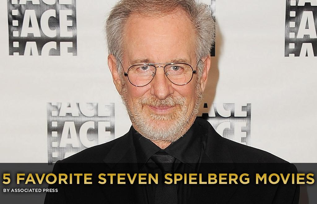 """This is perhaps the most daunting Five Most challenge I've thrust upon myself: choosing my five favorite Steven Spielberg movies.   Because, of course, there are way more than five great ones. He's one of the defining American filmmakers of our time. Even a top-10 list might have been insufficient.   Some omissions are surely going to leave you guys feeling baffled, even incensed. How dare I leave out """"Saving Private Ryan""""? Where's """"Close Encounters of the Third Kind""""? Somebody actually pays me to do this? I'm an idiot! Hey, it would have been great to include """"Minority Report"""" or """"Munich"""" in here, too. But I only get to choose five. That's why the game is fun.   So, with the opening this week of """"Super 8,"""" J.J. Abrams' loving and meticulous homage to the early work of Spielberg -- who's a producer on the film -- <a href=""""http://movies.yahoo.com/news/movies.ap.org/5-favorite-steven-spielberg-movies-ap"""">I humbly select my five favorite movies Spielberg has directed. Feel free to lemme have it:</a>"""