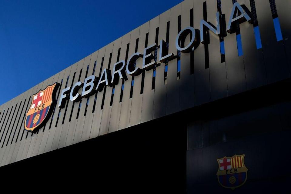 <p>The Catalan side were intended to be one of three LaLiga sides as founders</p> (AFP via Getty Images)