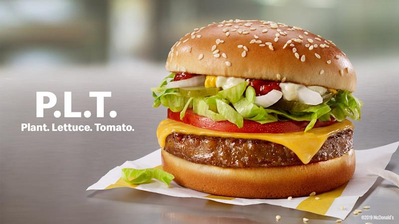 McDonald's Is Testing a New Plant-Based Burger