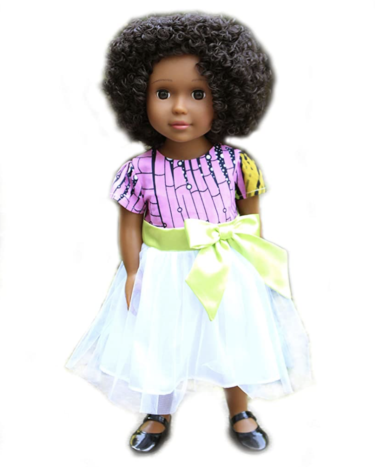 "Ikuzi Dolls African American 18"" Doll Brown Skin (Photo: Amazon)"
