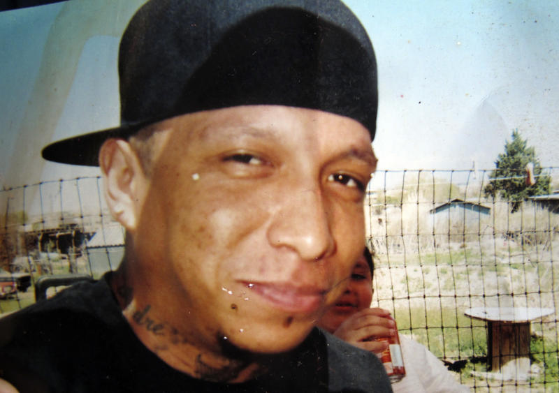 """This undated photo provided by the Redwine family shows Alfred """"Lionel"""" Redwine at an Albuquerque housing complex. Police said Redwine was shot Tuesday night, March 25, 2014 after he opened fire on officers responding to a frantic call from a woman who said the suspect had pointed a gun at two girls. It was the second deadly encounter between Albuquerque police and civilians in the last 10 days. New Mexico Attorney General Gary King announced Wednesday his office has launched an investigation into both of the fatal shootings (AP Photo/The Redwine family)"""