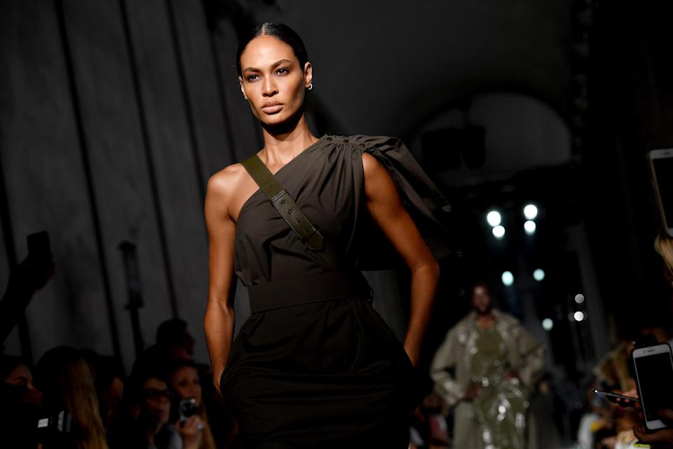 Image: Joan Smalls in 2018 (Jacopo Raule / Getty Images file)