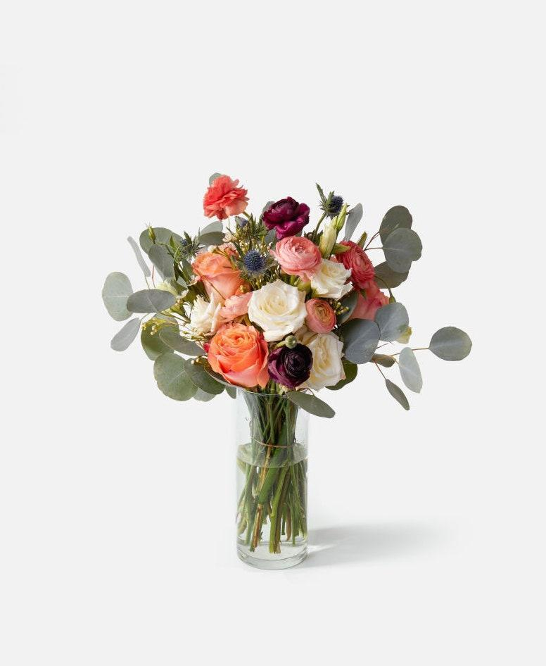 """Fresh blooms will never go out of style. Ship a fresh Urban Stems bouquet straight to their doorstep for a sweet surprise, or ship it to your home and gift it in-person. $100, Urban Stems. <a href=""""https://urbanstems.com/products/flowers/the-emma/FLRL-B-00114.html"""" rel=""""nofollow noopener"""" target=""""_blank"""" data-ylk=""""slk:Get it now!"""" class=""""link rapid-noclick-resp"""">Get it now!</a>"""