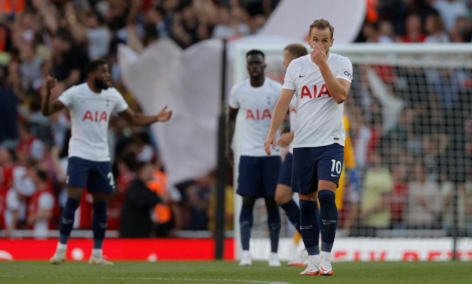 Harry Kane and Tottenham endured a tough day at the Emirates.