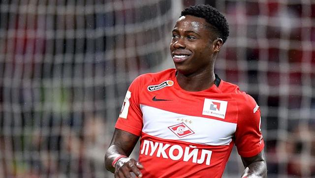 <p><strong>Age</strong>: 25</p> <p><strong>Clubs</strong>: FC Twente (Netherlands), Go Ahead Eagles Deventer (Netherlands, loan), Spartak Moscow (Russia)</p> <br><p>Here's one lad we could see very soon in Europe's top flight teams. But unlike some of the Eredivisie's talents of previous years, Quincy Promes decided to take an intermediary step between the Netherlands and Europe's elite, and well, that's working quite well for him. </p> <br><p>Although that might have looked surprising at the time, the young winger opted for Russia when the time came to leave his native country. After three seasons for Spartak Moscow, the Dutch talent has been a key figure in the club's tenth domestic title, their first since 2001. With 11 goals and 10 assists this season (42 goals and 23 assists in 88 games in all competitions). </p> <br><p>Living proof some players are just better off flourishing in minor leagues. </p>