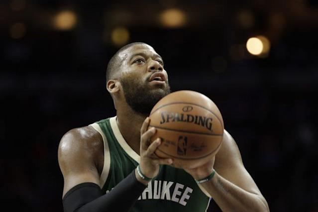 "<a class=""link rapid-noclick-resp"" href=""/nba/players/4722/"" data-ylk=""slk:Greg Monroe"">Greg Monroe</a> signed a three-year, $50 million contract with Milwaukee in 2015. (AP)"