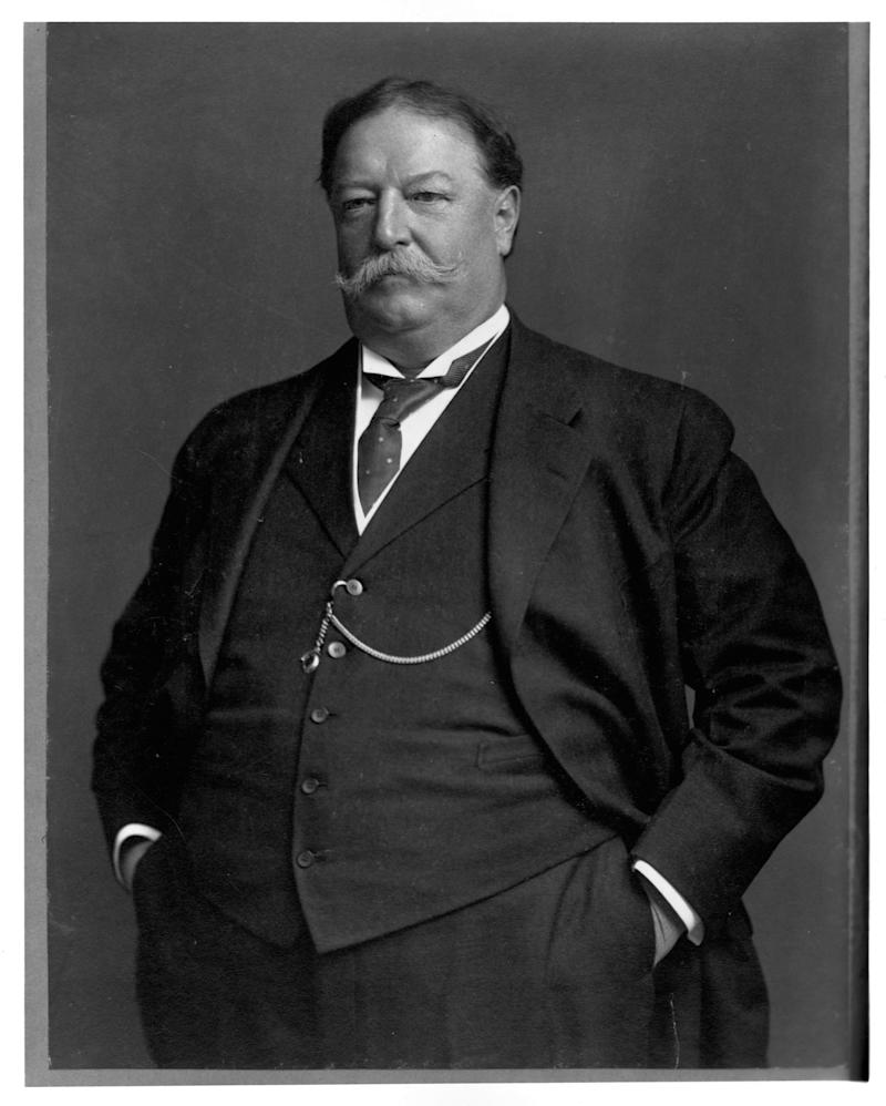 William Howard Taft fue presidente de Estados Unidos entre 1909 y 1913. (Library of Congress/Corbis/VCG via Getty Images)