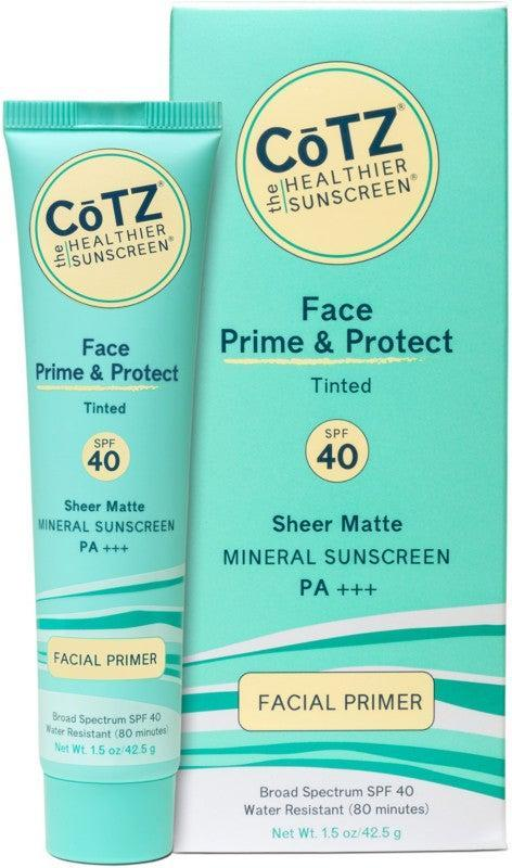 "<h2>CoTZ Face Prime & Protect SPF 40</h2> <br><strong>Best: Tinted Sunscreen</strong><br>This broad-spectrum sunscreen is oil and fragrance-free and infused with micronized titanium dioxide and zinc oxide for a texture that dries with a silky-matte finish.<br><br><strong>The Hype: </strong>4.6 out of 5 stars and 397 reviews on Ulta<br><br><strong>Reviewers Say</strong>: ""I can't live without this product during the summer. My favorite thing about this is that its thicker primer texture makes it totally effortless to apply with fingers. Especially in hot weather, I don't want to fuss with a whole heavy-feeling foundation process when it's likely to melt off in the heat anyway. I take a very small amount and just spread it around my face. It smooths my pores and lines, stays in place, blurs flaws on my skin, and does a great job staying matte. It has light-medium coverage but just enough for warmer weather. Some people have complained that the coloring is too dark, which I would agree with except that when you apply it, it sheers out nicely, and a light dusting of setting powder tones down the color a lot and makes it look more light and even. It also doesn't oxidize at all so it won't get any darker. By the time I spread it out and apply some setting powder over it it's not too dark at all (and I have pale Irish skin). If you want more coverage, the finish of this is perfect for a light layer of powder foundation over it, which is super easy and fast. So, you can achieve excellent coverage in like 90 seconds without putting a whole heavy layer of makeup over this. It's fantastic and I hope they PLEASE never discontinue it.""<br><br><strong>Deals: </strong>All CoTZ products currently <strong>buy one, get one 40% off </strong>on <strong><a href=""https://www.ulta.com/brand/cotz"" rel=""nofollow noopener"" target=""_blank"" data-ylk=""slk:Ulta"" class=""link rapid-noclick-resp"">Ulta</a></strong> <br><br><strong>CoTZ</strong> Face Natural Skin Tone SPF 40, $, available at <a href=""https://go.skimresources.com/?id=30283X879131&url=https%3A%2F%2Fwww.ulta.com%2Fface-natural-skin-tone-spf-40%3FproductId%3DxlsImpprod4190153"" rel=""nofollow noopener"" target=""_blank"" data-ylk=""slk:Ulta"" class=""link rapid-noclick-resp"">Ulta</a><br><br><br><br><br><br><br><br>"