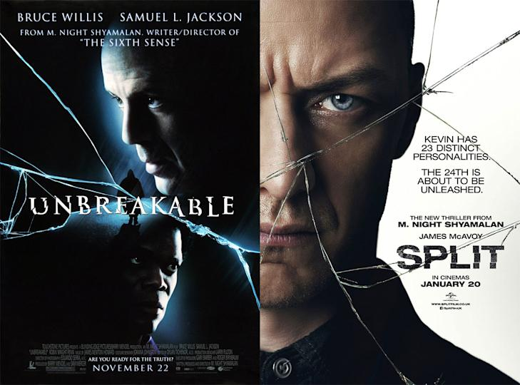 Image result for unbreakable and split