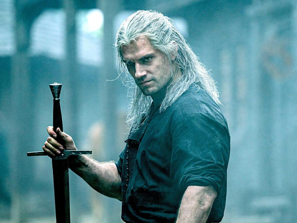 The Witcher Geralt of Rivia Henry Cavaill Netflix show .fk3ph4dhp