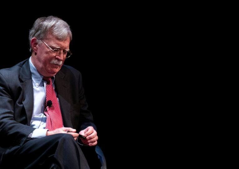 Former US national security advisor John Bolton, pictured in February 2020, is among the Trump administration officials who will be prohibited from entering mainland China, Hong Kong and Macau under new sanctions from Beijing