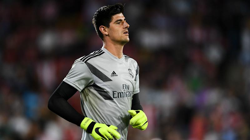 Courtois set for spell on sidelines as Real Madrid confirm latest injury blow