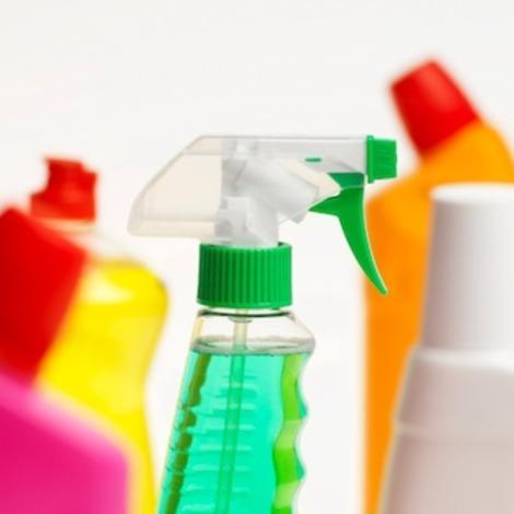Common cleaners contain many hazardous chemicals