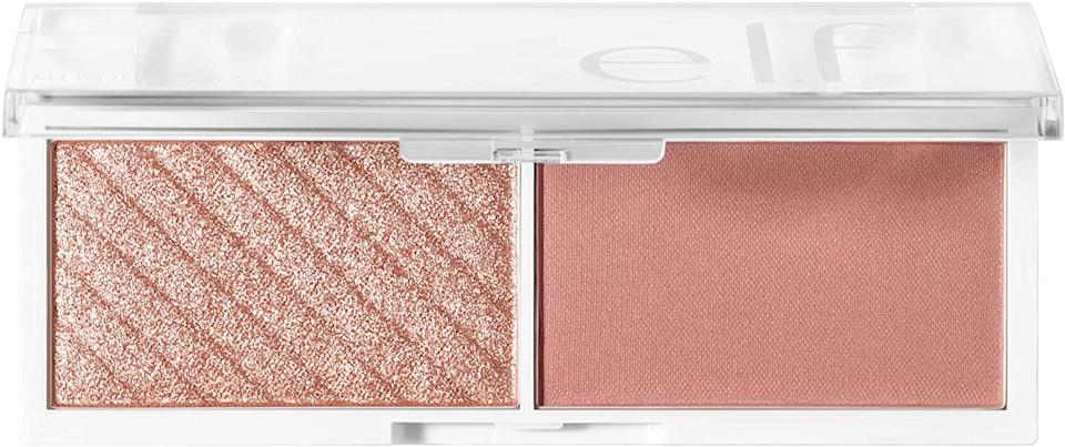 Bite-Size Face Duo, Highlighter, Bronzer & Blush Palette. Image via Amazon