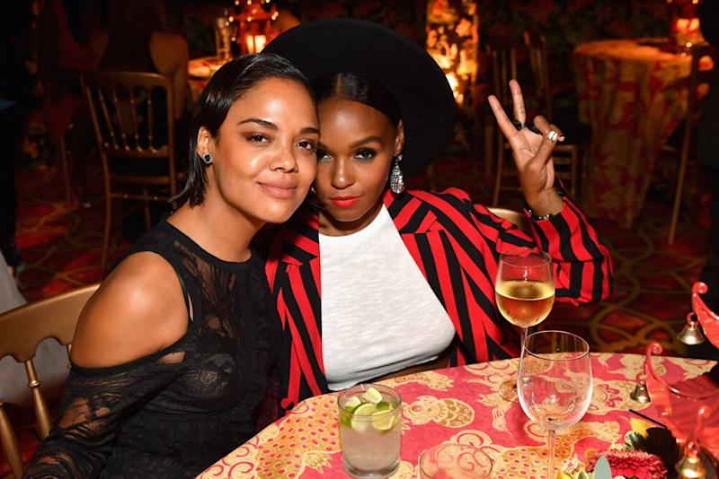 Tessa Thompson and Janelle Monae