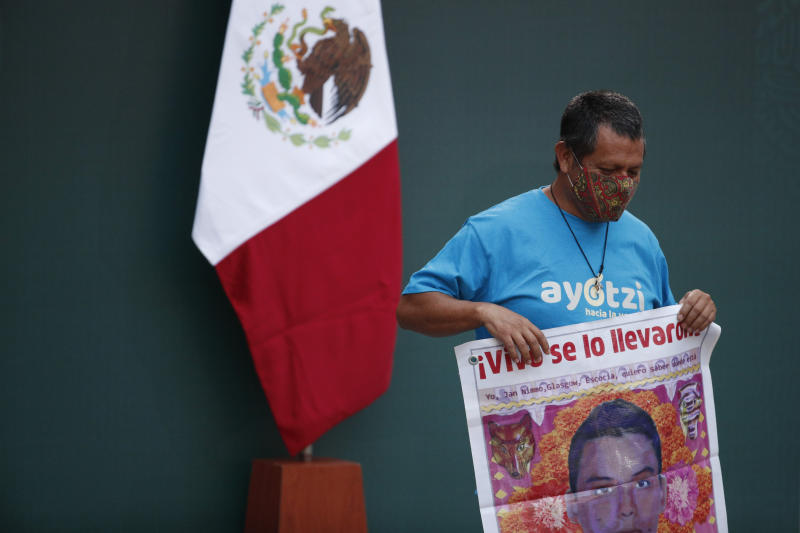 Mexico Missing Students Anniversary