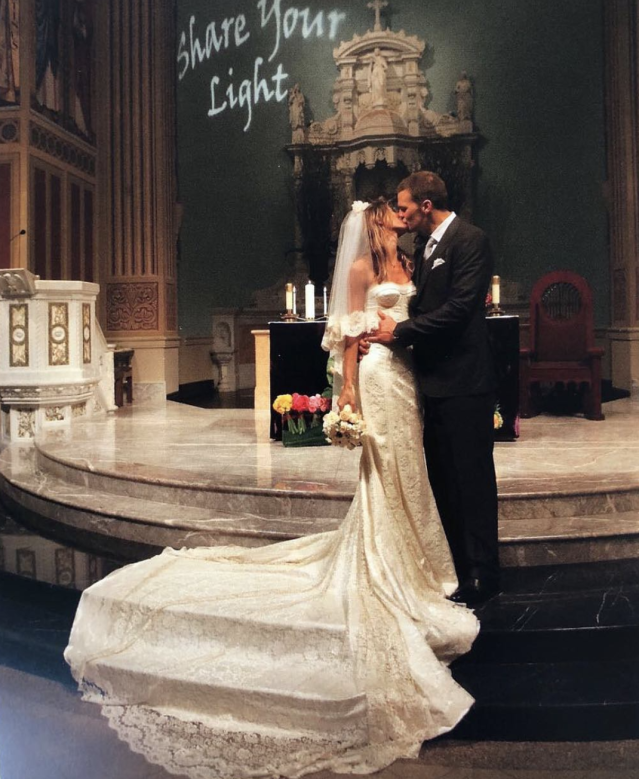"<p>""What a ride this past nine years have been,"" the supermodel dedicated this throwback of her wedding, to New England Patriots quarterback Tom Brady. ""I love learning and growing with you. Happy anniversary love of my lifey!""<br>(Photo: <a href=""https://www.instagram.com/p/BfqYAyPl__E/?taken-by=gisele"" rel=""nofollow noopener"" target=""_blank"" data-ylk=""slk:Gisele via Instagram"" class=""link rapid-noclick-resp"">Gisele via Instagram</a>) </p>"
