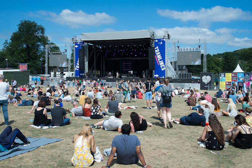 Tramlines Festival will have a full capacity of 40,000 fans. (Photo by Joseph Okpako/WireImage)