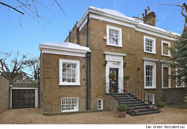 Jude Law's London home