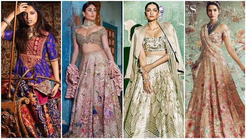 Kareena Kapoor Khan, Sonam Kapoor, Bhumi Pednekar or Kriti Sanon - Whose Bridal Ensembles Will you Like to Own for your D-day?