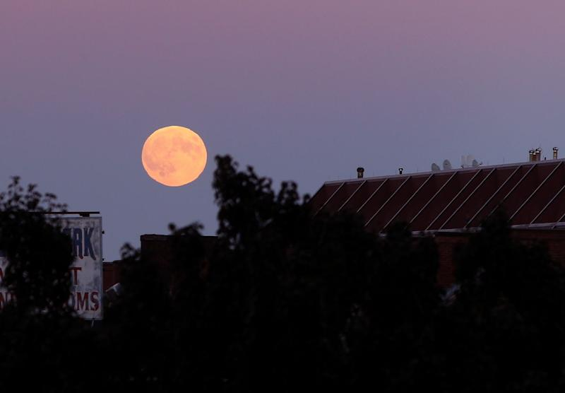 Look Up! Harvest Moon Will Be In Night Sky