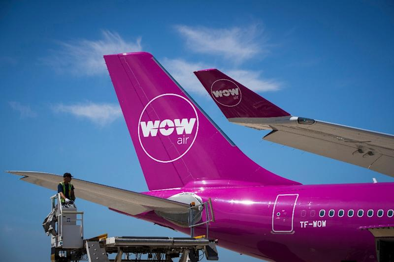 Iceland's Wow Air has cancelled all flights after failing to find investors interested in saving the troubled airline (AFP Photo/JOEL SAGET)