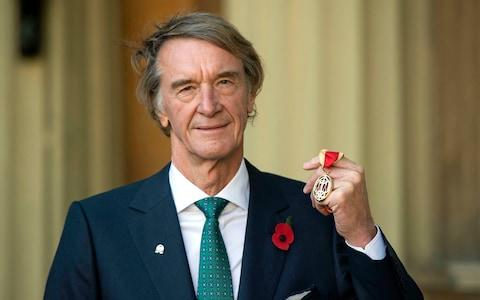 <span>Sir Jim Ratcliffe's Ineos Chemicals Group has taken over Team Sky which will become Team Ineos for the new World Tour season</span> <span>Credit: Victoria Jones/PA Wire </span>