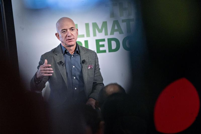 Amazon's BezosPledges to Meet Paris Climate Pact 10 Years Early
