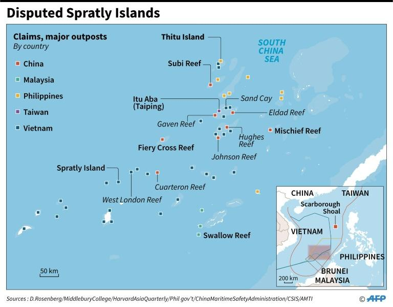 Disputed Spratly Islands