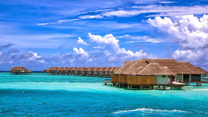The Maldives is a popular destination for the A-list, including Joe Jonas and Sophie Turner who are spending their honeymoon there.