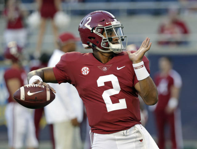 Jalen Hurts will reportedly redshirt the 2018 season. (AP Photo/John Raoux)