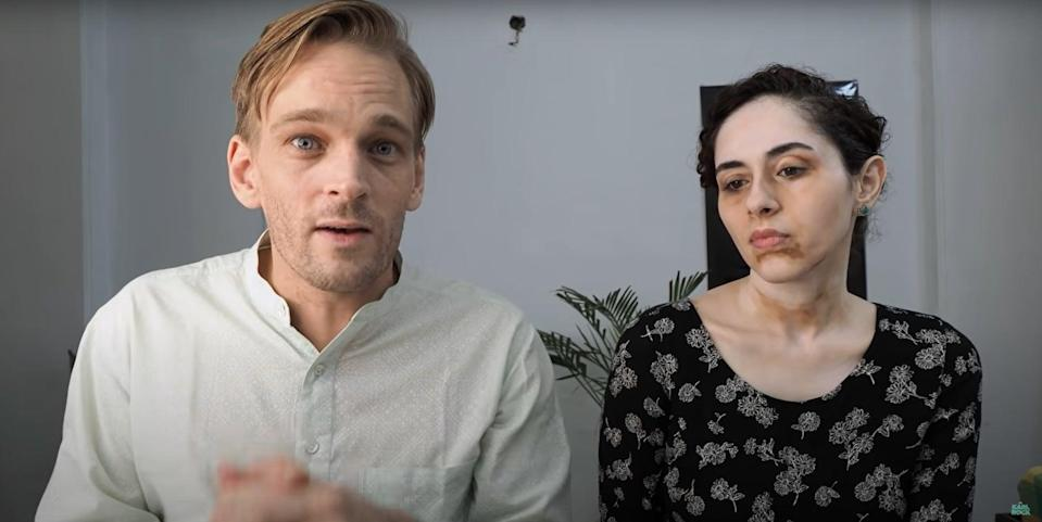 A screengrab from Karl Rock's YouTube channel where he discusses work-from-home scams aimed at trapping housewives and job seekers across India to extort money (YouTube/Karl Rock)
