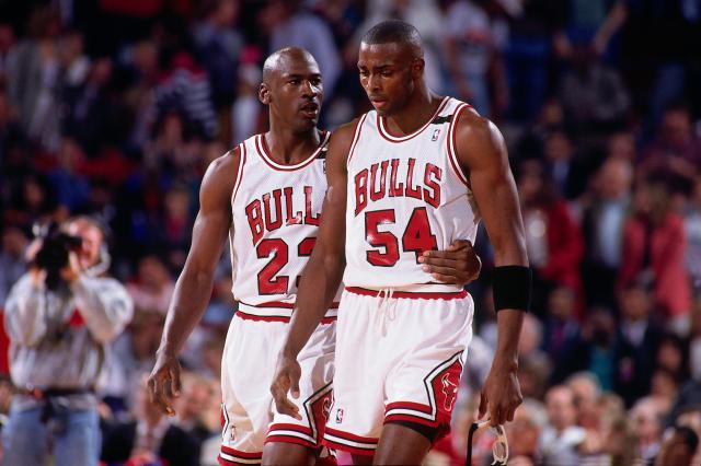 Horace Grant sounds ready to fight Michael Jordan. (Nathaniel S. Butler/NBAE via Getty Images)