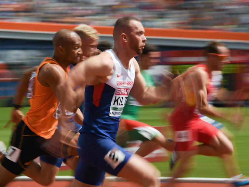 Kilty running at the 2016 European Championships: Getty