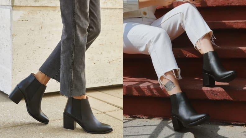 Best gifts for wives: Nisolo Heeled Chelsea Boot