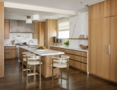 """<p>The best way to let those elements stand out? Keep everything else simple, says Pickart. """"For 2020, simplicity will be key,"""" she says. """"Flat-paneled millwork with minimal detailing and fuss is the best way to let unique cabinetry materials really shine.""""</p>"""