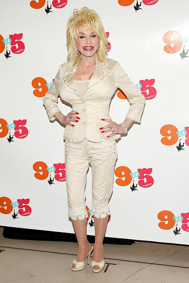 "So what has Dolly had done? Clearly, a lot. As she herself admits, ""If I see something sagging, bagging, and dragging, I'm going to nip it, tuck it, and suck it."" Stephen Lovekin/<a href=""http://www.gettyimages.com/"" target=""new"">GettyImages.com</a> - July 15, 2008"