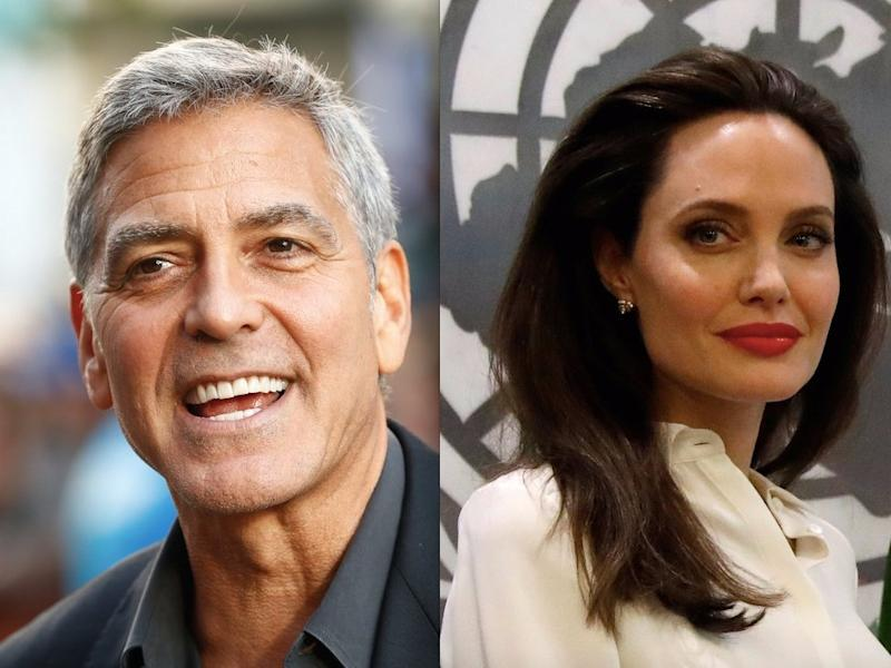 George Clooney and Angelina Jolie