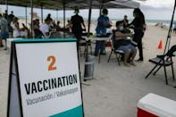 Some people from hard-hit Latin America are travelling to the United States to get vaccinated