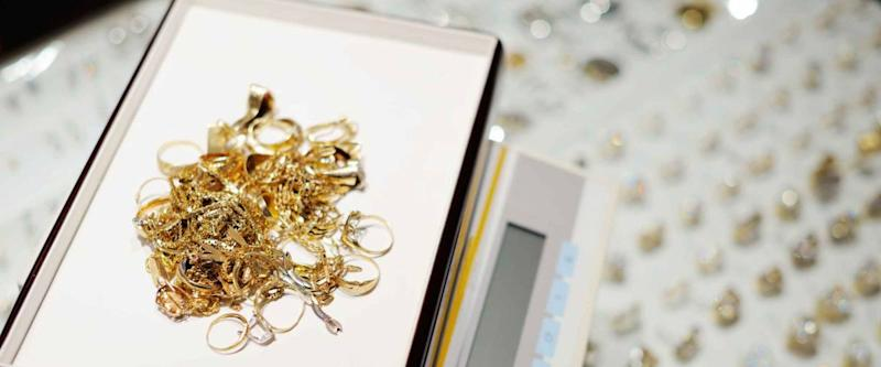Pawnshops might accept valuable gold jewelry.