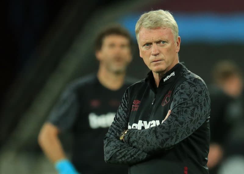 West Ham's Moyes returns second positive COVID-19 test - Times