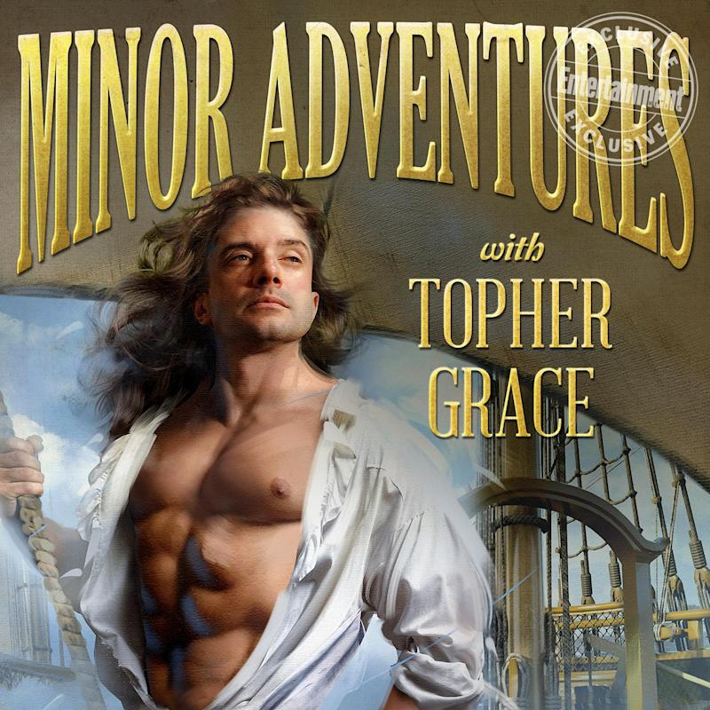 Topher Grace As A Romance Novel Cover Model See The Star S