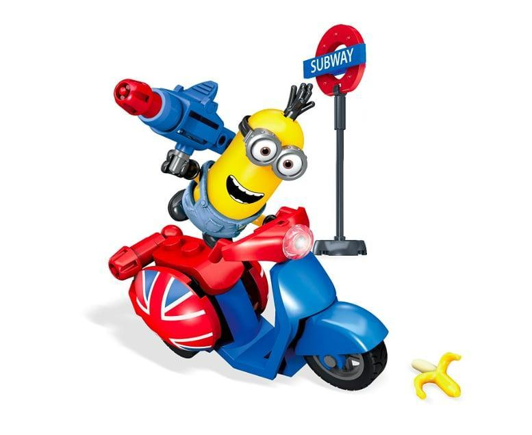 <p>The Minions get themselves into the funniest situations, and we have a feeling this <span>Mega Construx Minions Scooter Escape</span> ($14) was probably inspired by a very funny scene! If they've watched these movies dozens of times, they'll love this toy.</p>