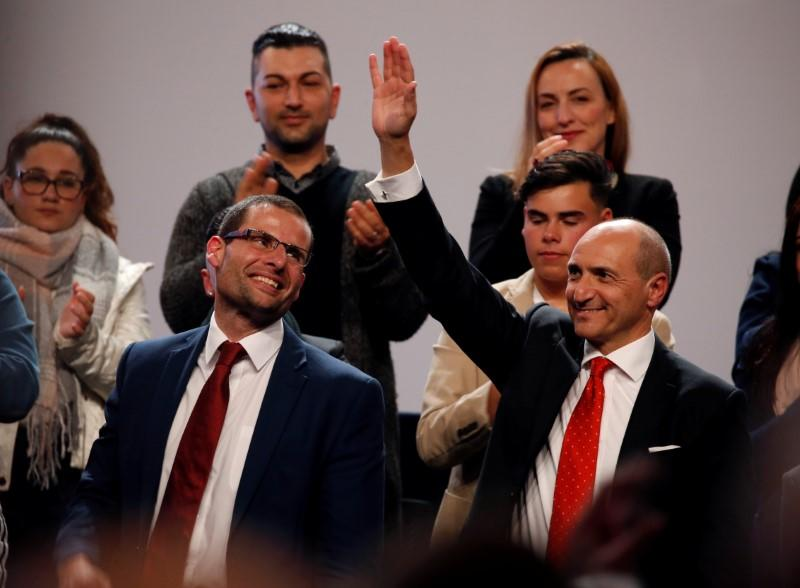 Malta ruling party members vote to elect new leader and PM