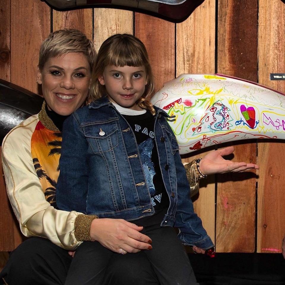 "<p>Carey Hart used social media to spread the holiday love to his wife, daughter and the couple's 13-month-old son <a rel=""nofollow"" href=""http://people.com/babies/pink-carey-hart-welcome-jameson-moon/"">Jameson Moon</a>. ""Happy <a rel=""nofollow"" href=""http://people.com/valentines-day/"">Valentine's Day</a> to my ladies!!!!!! Love these girls with all my heart,"" he <a rel=""nofollow"" href=""https://www.instagram.com/p/BfLvMBmjq9r/"">captioned a photo</a> of Pink and Willow. He followed up the post with a cute video clip of Jameson.</p>"